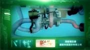涡轮增压发动机原理动画——霍尼韦尔