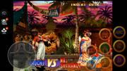 拳皇MUGEN:大蛇使出隱藏大招,看七枷社還能否撐住