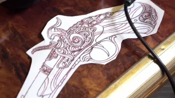 老兵纹身1图片