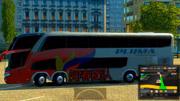 歐洲卡車模擬2 哈薩克斯坦大草原 國產海格巴士