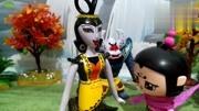 蝎子精陪蛇精夫人看瀑布遇上洗澡的葫芦娃们图片