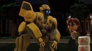 坦克变身变形金刚擎天柱 邀请大黄蜂组成英雄战队