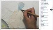 板繪教程:古風唯美男頭像繪畫高清版