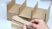 抽紙盒不用買,用這個廢棄物做一個,比買的還好用