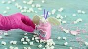 創意彩虹糖造型蛋糕教程,閨蜜零食大作戰