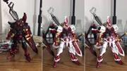 高達創戰者:擁有特殊粒子的武士刀,戰國異端的戰斗風格真是勇猛
