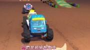 宝宝巴士疯狂怪兽车:炫酷的超级怪兽车来了,快闪开