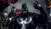 《銀河危機》為了阻止滅霸獲得共生體, 蜘蛛俠變身毒液