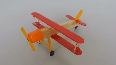 创意飞行器幼儿园手工