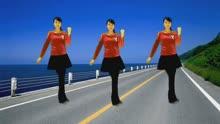 珍儿广场舞《流泪的情人》弹跳32步动感DJ健身操