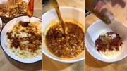 """陜西地方名小吃""""包谷面攪團"""",坊間戲稱之""""哄上坡。你吃過嗎?@抖音美食  @老班"""