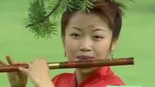 李贵中笛子演奏一曲 珊瑚颂 ,优美动听,太棒了