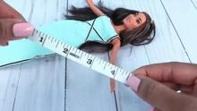 DIY教程,自己给芭比娃娃做一条半身裙,简单又好看