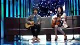 《大娛樂家》譚杰希與曲婉婷吉他彈唱