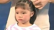给芭比娃娃编三款漂亮的发型,同样适合我们过年走亲访友的编发