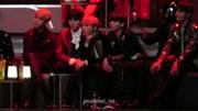 防彈少年團和EXO一起彩排 這兩個男團關系不錯