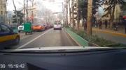 觸目驚心 三只羊跑上高速引發重大交通事故