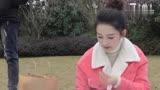 170726 李沁吃道具-電視劇《佳期如夢之海上繁花》片場花絮