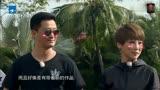 吳京謝楠參加《真星話大冒險》宣傳戰狼2