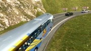 BeamNG:假人坐在大巴車里測試汽車的超強碰撞,擬真車禍模擬游戲