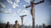 復活節福音沙畫《基督受難記》電影耶穌