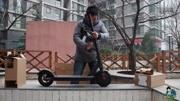 【紳士一分鐘】老司機電動滑板車戶外露出play