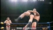 复兴组合大战Bteam,3组双人组合摔跤,WWE精彩摔跤