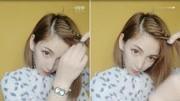美拍視頻: 碎發多, 劉海這樣漂亮