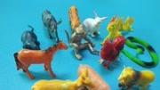 鋼甲小龍俠玩具動物生肖變形機器人