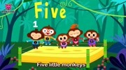 Five Little Monkeys _ Mother Goos...gs for Childre