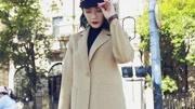 2017年新款双面绒羊毛大衣女中长款韩版羊毛呢子