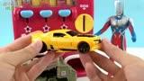 赛罗奥特曼贩卖机买大黄蜂探长变形玩具
