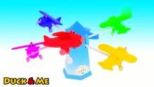 动漫早教益智玩具3d动画飞机和他的颜色宝宝唱亲子v动漫儿歌夏洛的网教学设计图片