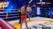 俄罗斯沙里幕汗首回合连续左右摆拳TKO中国王腾豪