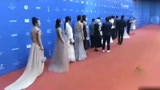 《西游記女兒國》劇組出席發布會,趙麗穎馮紹峰一起出席