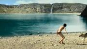能在如此驚艷遠古的地方擼可以說是人生贏家了!#阿爾法狼伴歸途 #電影 #狼少年
