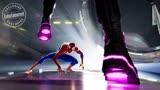 蜘蛛侠:平行宇宙,小黑蛛Miles就着该片歌曲《Sunflower》尬舞