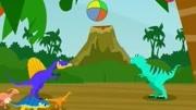 侏罗纪世界 恐龙乐园 恐龙世界 恐龙乐园 恐龙动画片3图片