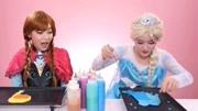 冰雪奇緣愛莎和安娜公主的日常,起床吃早餐穿美美噠的裙子