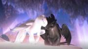 馴龍高手2 (片段)龍族BOSS喜愛龍寶寶的龍族之王
