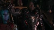 《复仇者联盟4:终局之战》惊奇队长和复联集结,美国队长爆粗口