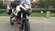 錢江貝納利TRK502摩托,500斤的塊頭,175個頭騎上腳