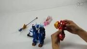 新神獸金剛:沙蝎女被冥帝魔化成機械獸,天之行者神獸合體