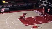 NBA:喬丹經典罰球線起跳扣籃
