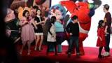 沈騰-年獸大作戰-首映發布會-跳舞?!抱抱~