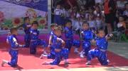明天幼儿园2015年文艺汇演男孩舞蹈《长大我要当警察》