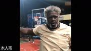 奧尼爾歐文聯袂扮老頭打遍洛克公園無敵手NBA巨星匯聚德魯大叔