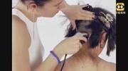 尝试超短发的小姐姐来剪发,剪完之后,网友跟换了个人似的