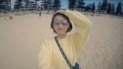 日出航拍 悉尼邦迪海灘