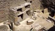 """三峡淹没区挖出""""太阳人"""",距今7000年,国家禁止其出境展览图片"""